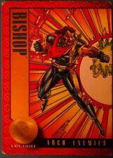 1993 Skybox X-Men Series 2 Trading Cards: #40 - Bishop Arch Enemies