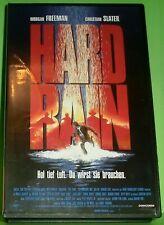Hard Rain (VHS Kassette) Hol tief Luft. Du wirst sie brauchen. | Morgan Freeman