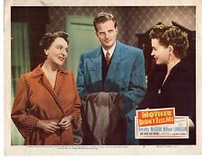 DOROTHY MCGUIRE WILLIAM LUNDIGAN MOTHER DIDN'T TELL ME 11x14 Lobby Card LC678