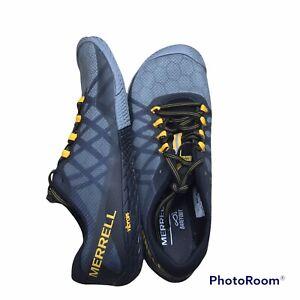 Merrell Vapor Glove 3 Mens Barefoot Running Shoes Size 9 Vibram Gray NEW NWOB