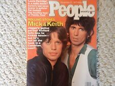 Mick Jagger People Magazine November 21, 1977 ABSOLUTELY PERFECT CONDITION!!