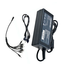 8 Ports pigtail 12V 4A DC Power Supply Adapter for CCTV Camera LED DVR PSU