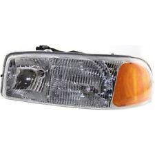 For Sierra 1500 99-07, Driver Side Headlight, Clear Lens