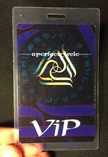 A Perfect Circle authentic 2001 tour Backstage Pass Laminated Vip