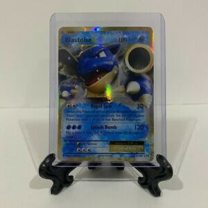 Pokemon XY Evolutions Blastoise EX 21/108 Ultra Rare Holo PSA 10/9 Ready