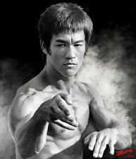 Bruce Lee - Portrait B-W - 8 1/2 X 11- Metek09-Artwork-Production (2018)
