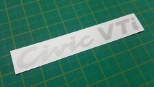 Civic VTi Vtec EG EG6 EG8  rear hatch Restoration Decal Sticker 1992 - 1995