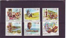 Portugal-sg1805-1810 Mnh 1980 mundial del turismo Conferencia de Manila