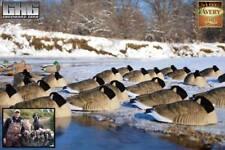 Dozen Avery Greenhead Gear Pro Grade Honker SLEEPER Shell Canada Goose Decoys