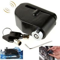 Loud Alarm Touch Anti Theft Motorcycle Scooter Security Wheel Disc Brake Lock