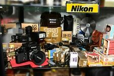 nikon f2as, 98%mint (modified by Sover Wong),boxed,manual,new seals,5 top lenses