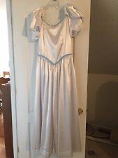 1800's Victorian/Civil War Era White Ball Gown