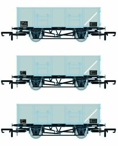 Accurascale ACC1082-MDOC BR 21T COAL21/MDO Mineral Wagon Triple Pack Grey Pack C