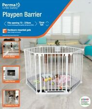 Perma Child Safety Playpen Gate Room divider Multi purpose barrier