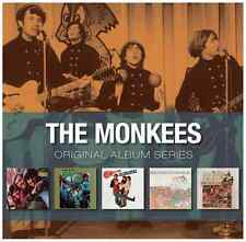 The Monkees - Original Album Series (5-CD box, 2012) • NEW; Monkeys Headquarters