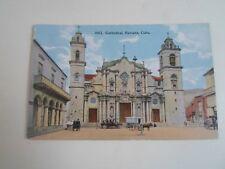 CUBA, HAVANA, Cathedral (4002) Publisher Harris Bros Co. Havana Cuba  §A2254