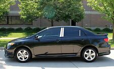 Toyota Corolla Stainless Steel Chrome Pillar Posts by Luxury Trims 2003-2008 6pc