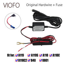 Original Car Dash Camera Hardwire Cable+Fuse Kit For VIOFO A119 A119S Recorder