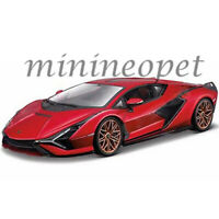BBURAGO 18-11046 LAMBORGHINI SIAN FKP 37 1/18 DIECAST MODEL CAR RED
