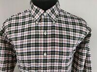 Ralph Lauren Blaire Mens Long Sleeve LS Button Down Shirt Size L Large Plaid
