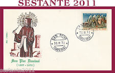 ITALIA FDC ROMA 1972 S. PIER DAMIANI S. PETRUS DAMIANUS SAN REMO G339