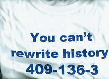 Penn State Tee Shirt You Can't Rewrite History 409-136-3