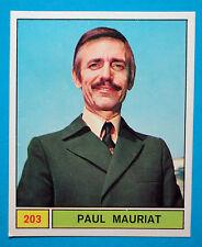 Figurina/Sticker-CANTANTI PANINI 69-n. 203 - PAUL MAURIAT -recuperata