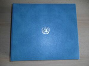 UNITED NATIONS Commemorative First Day Cover Collection, 1976-1979, in Album