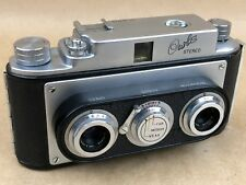 Stereo Owla Vintage Japanese Camera w/ 35mm Lens Early First Model - Very Clean