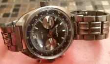 Poljot Chronograph 3133 Wrist Watch Men polet okean dial soviet ussr rare box