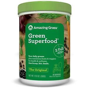 Amazing Grass Green Superfood, Original, 45 servings Boost energy levels