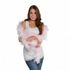 Hen Party Boa White/Pink- Made by Amscan- New