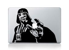 "DARTH VADER Laptop Decal fits Apple Macbook Pro 13"" custom made vinyl decal"
