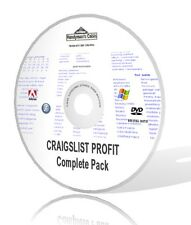 Craigslist Profit Complete Pack - Video, Audios, Guides, & More! DVD