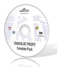 Craigslist profitto completa Pack-Video, audios, guide, & More! DVD