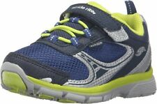 NIB STRIDE RITE Athletic Shoes M2P Lawson Navy Lime Green 4 W