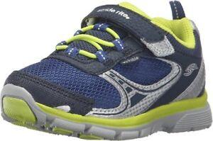 NIB STRIDE RITE Athletic Shoes M2P Lawson Navy Lime Green 4 W