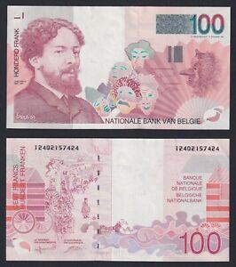 Belgio 100 francs 1995(2001)  FDS-/UNC-  C-06