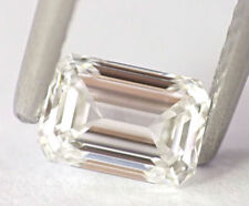 0.50 carat F VVS1 Loose Natural Diamond  Emerald  Cut GIA Certified Collection