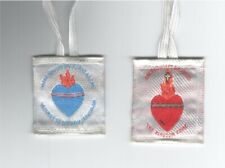 United Hearts Sacred Heart of Jesus and Immaculate Heart of Mary Scapular Cloth