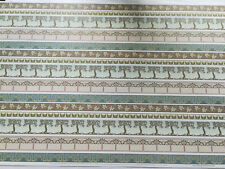 Dollhouse Miniature Brodnax Wallpaper Arts & Crafts Borders 1:12 Scale