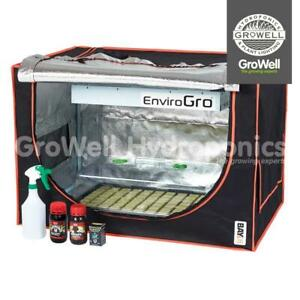 BAY6 Mini Cuttings / Seeds / Propagation Indoor Growing Room Tent Kit - 2-in-1!