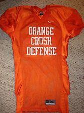 Nike Virginia Cavaliers #46 Orange Crush Defense Practice Jersey *Xl*