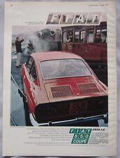 1970 Fiat 850 Coupe Original advert