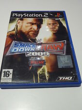 PLAYSTATION 2  ///  SMACKDOWN VS RAW 2009  Complet ! FR PS2