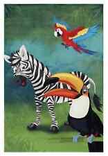 Teppich Kinderzimmer Tiere Dschungel LK-402 / 80 cm* 150 cm/ 33,29 EUR/qm