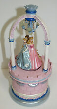 Disney Store Princess Jewelry Box with Light Tested Works Belle Cinderella
