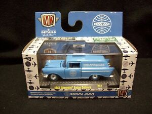M2 Machines Pan-Am 1957 Chevy Sedan Delivery Station Wagon Limited Edition.