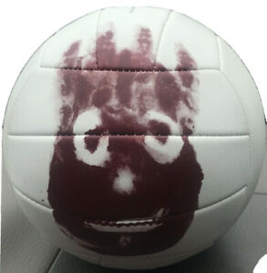OFFICIAL RARE 2001 Promo Castaway Cast Away Wilson Volleyball Tom Hanks Used