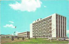 Six-story Glass Tower, Oakland County Court House, Pontiac, Michigan Postcard
